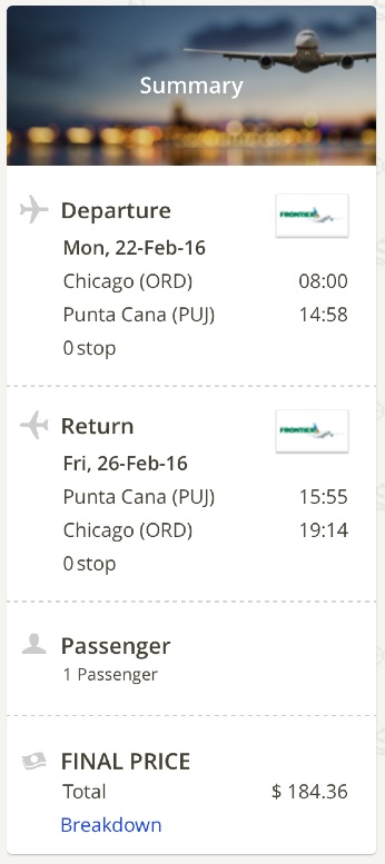 Chicago to Punta Cana