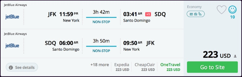 New_York_to_Santo_Domingo_flights