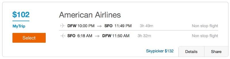 Cheap_flights_from_Fort_Worth_to_San_Francisco_-_Dohop
