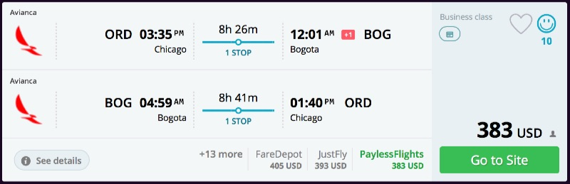 Chicago_to_Bogota_flights_-_momondo