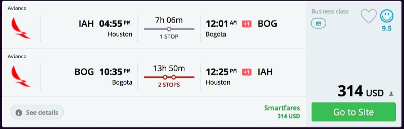Houston_to_Bogota_flights_-_momondo