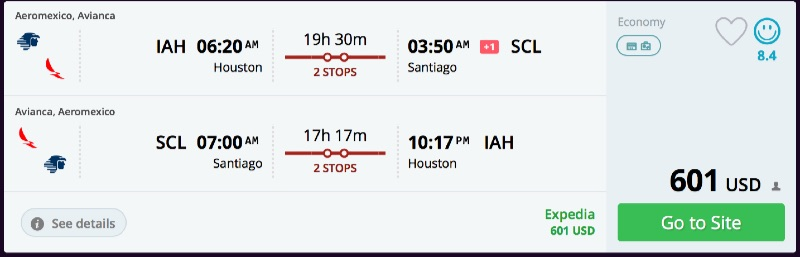Houston_to_Santiago_flights_-_momondo