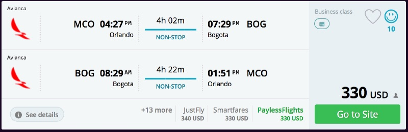 Orlando_to_Bogota_flights_-_momondo
