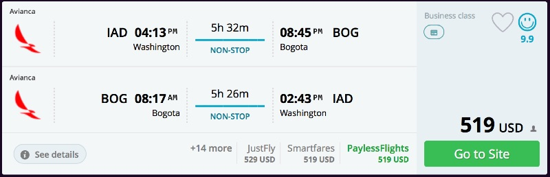 Washington_DC_to_Bogota_flights_-_momondo