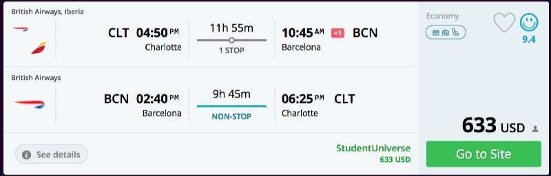 Charlotte_to_Barcelona_flights_-_momondo