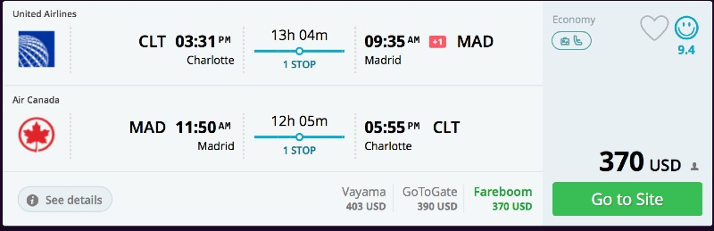 Charlotte_to_Madrid_flights_-_momondo